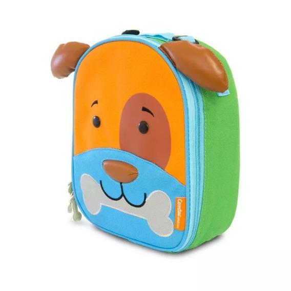 Lancheira Infantil Animais Let S Go Cachorro Dylan Comtac