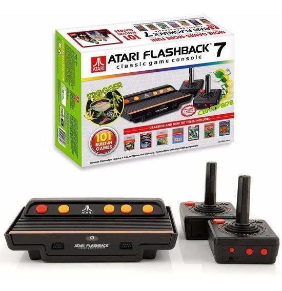 Vídeo Game Atari Flash Back 7 Classic - 101 Jogos