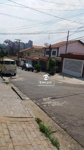 Sobrado À Venda, 300 M² Por R$ 1.290.000,00 - Vila Scarpelli - Santo André/sp - So2945