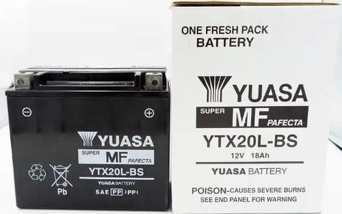 Batería De Moto Yuasa Ytx20l-bs,san Borja Delivery.