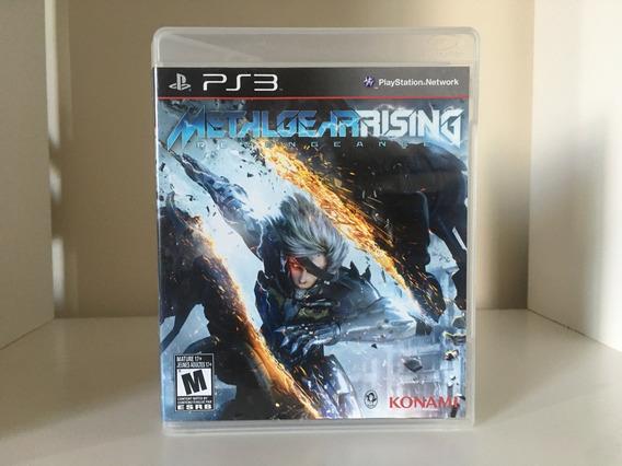 Metal Gear Rising - Ps3 - Mídia Física Original