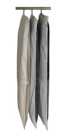 15 Fundas Porta Trajes Camperas Camisas Pantalones 1m Largo