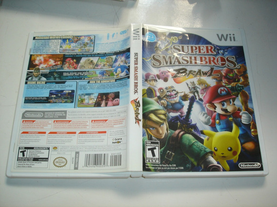 Super Smash Bros Brawl Original Nintendo Wii Wiiu C01