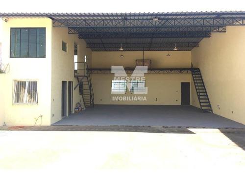 Galpão À Venda, 149 M² Por R$ 420.000,02 - Parque Fernão Dias - Atibaia/sp - Ga0088