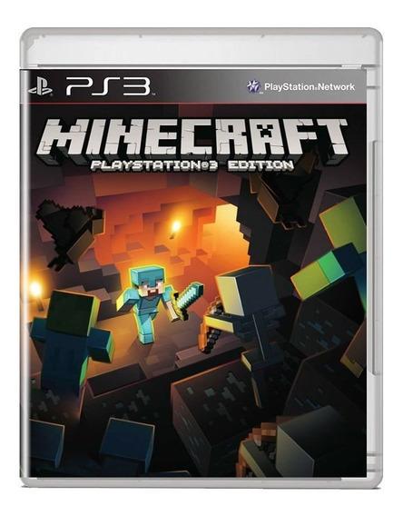 Minecraft Ps3 Edition Midia Fisica Pronta Entrega