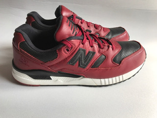 Tenis New Balance 530 Red Leather 28.5 Cms Usados