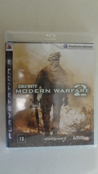 Call Of Duty Modern Warfare 2 Para Ps3 (bl) - Novo E Lacrado