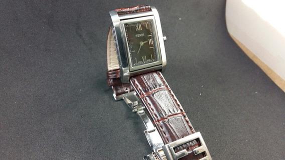 Relógio Fendi Swiss Vira Bracelete Omega Mido Aceito Oferta