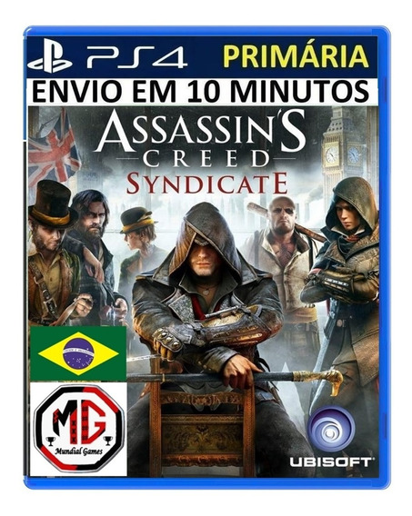 Assassins Creed Syndicate Ps4 - Original 1 Psn - Pt Br