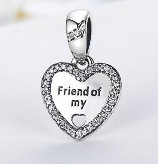 Charm Berloque Best Friends Prata 925 Tipo Pandor