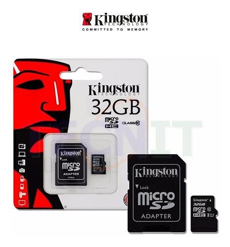 Memoria Micro Sd 32gb Clase 10 En Blister Laschimeneas