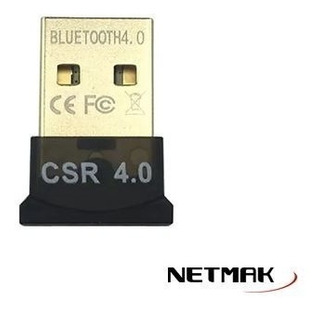 Adaptador Bluetooth Netmak Mini Nm-bt4 Usb 4.0