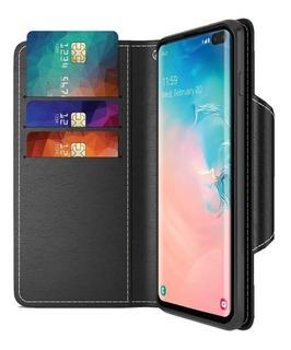 Funda Maxboost Billetera Wallet Samsung Galaxy S10 Plus