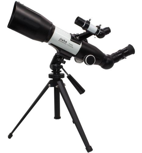Telescopio Astronomico Profissional Refrator Jiehe 350x60mm