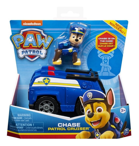 Patrulha Canina Chase Polícia Carrinho Básico Sunny