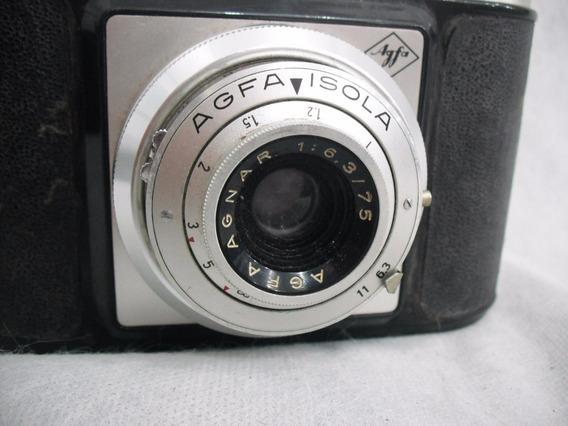Camera Agfa Isola Coleção Anos 50/60