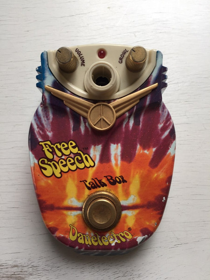 Pedal Danelectro Free Speech Talk Box