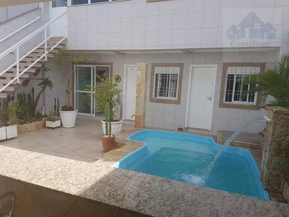 Casa Com 4 Dormitórios À Venda, 360 M² Por R$ 2.960.000,00 - Boqueirão - Santos/sp - Ca0422
