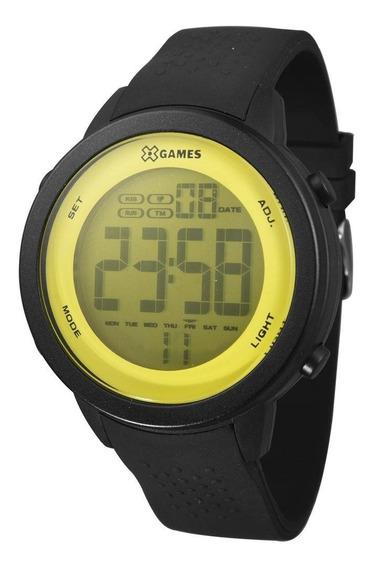 Relógio Masculino X-games Xmppd475/yxpx - Preto/amarelo