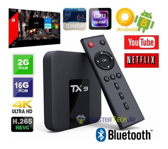 Tv Box Tx9 4k Uhd 4gb Ram 32gb Smart Tv Android