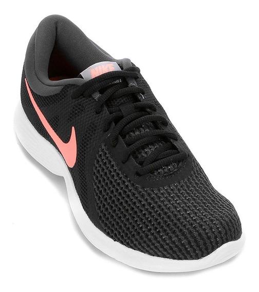 Tênis Feminino Nike Revolution 4 90899 Pto/salmon