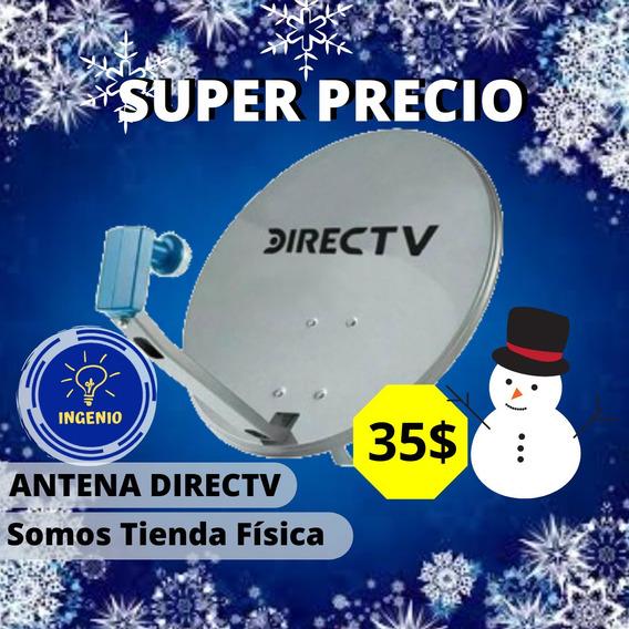 Antena Nueva, Completa Direc-tv, Lnb Azul, Hd, Tienda Fisica