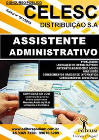Apostila Concurso Celesc Assistente Administrativo 2019