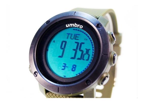 Relógio De Pulso Umbro Umb-121-1 Pedometro Garantia E Nf