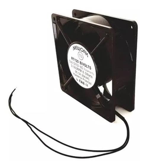 Cooler Ventilador Ventoinha C/ Rolamento 120x120x38mm Bivolt