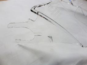 Kit Viseira Zeus 3000a/3000e Cristal Com Reparo Lateral