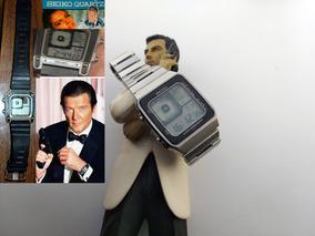 Vintage Seiko James Bond - Agente 007 Roger Moore