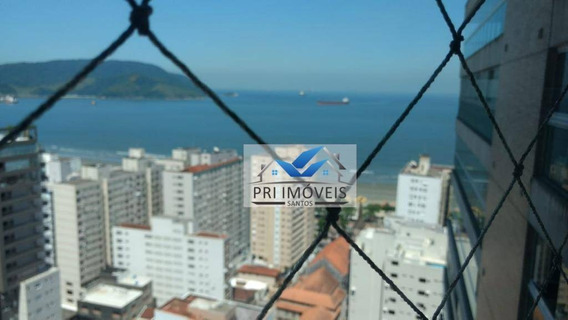 Apartamento À Venda, 204 M² Por R$ 2.340.000,00 - Boqueirão - Santos/sp - Ap0847