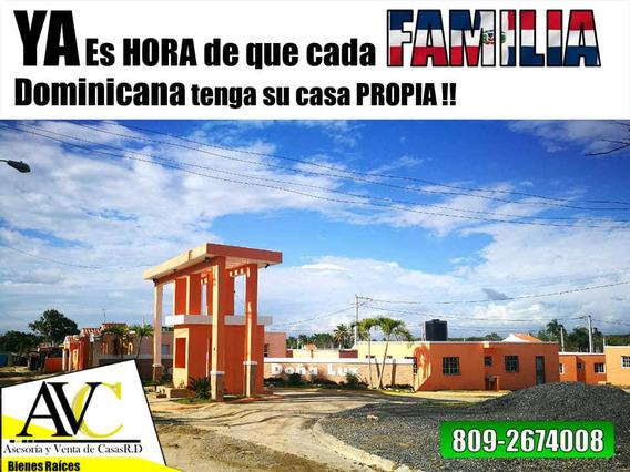 Solar Residencial En Santo Domingo Fácil Acceso