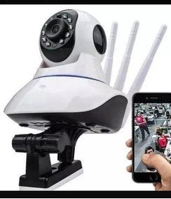 Câmera Wi-fi 3 Antenas