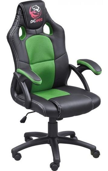 Cadeira Gamer Mad Racer V6 Verde - Pcyes