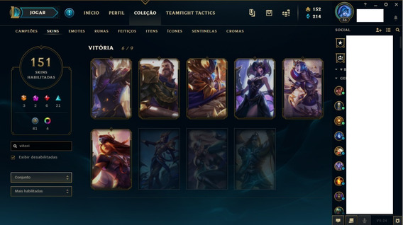 Lol Ouro S3 S4 S5 S6 S7 S8 S9