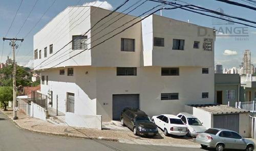 Salão À Venda, 707 M² Por R$ 1.200.000,00 - Novo Taquaral - Campinas/sp - Sl0332