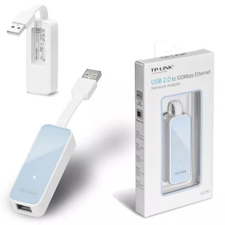 Adaptador De Red Usb 2.0 A Ethernet Tp-link Ue200