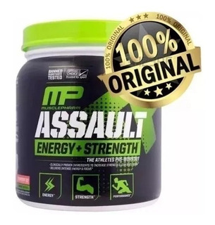 Assault Mp 30 Doses Importado+glutamina Integralmedica 300g