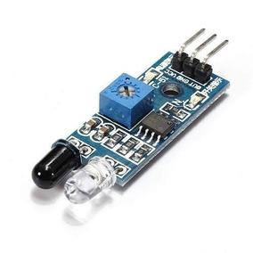 Sensor De Obstáculo Infravermelho/ Reflexão Lm393 P/ Arduino