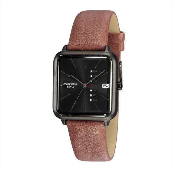 Relógio Masculino Mondaine Couro 32022gpmvsh1 Original + Nfe