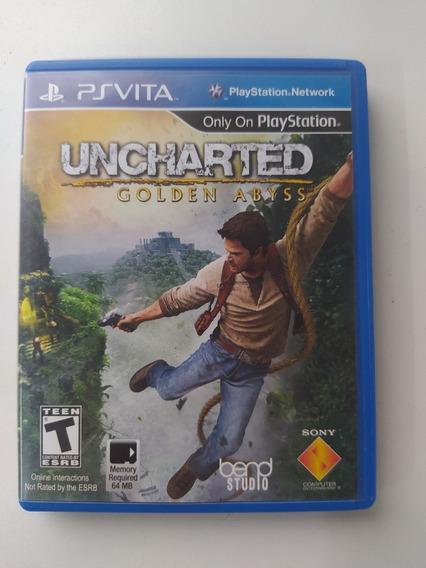 Uncharted Golden Abyss - Ps Vita - Original - Midia Fisica