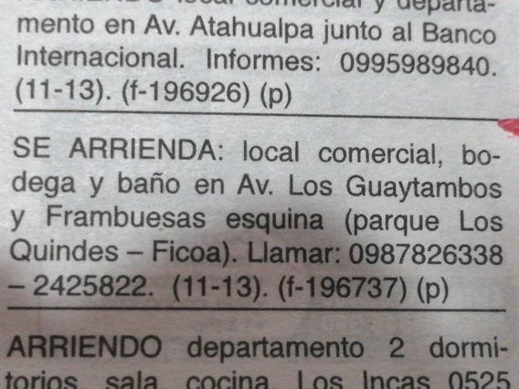 Local Comercial, Esquinero;sector Transitado