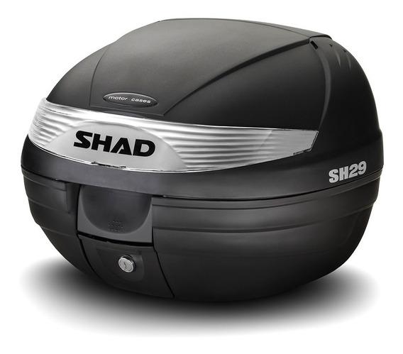 Baul Shad 29 C/base Reflectivo Blanco