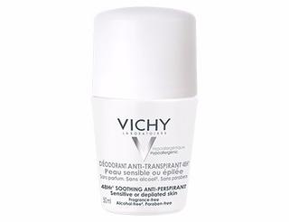 Vichy Desodorante Antitranspirante 48h Roll On Piel Sensible