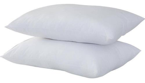 Kit 2 Travesseiro De 100% Fibra De Silicone Antialérgico