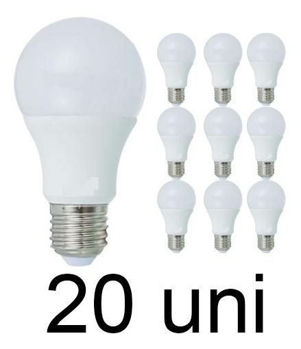Kit 20 Lâmpada Bulbo Super Led 16w Branco Frio E27 Casa Loja