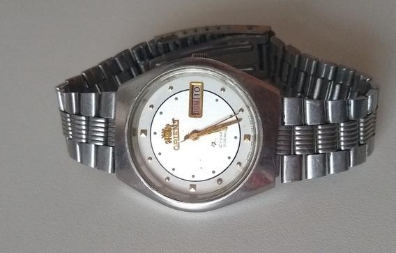 Relógio Masculino Orient Crystal Ea 469l1u-8b Ca
