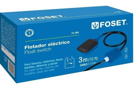 Flotador Foset Fl-004, Flotador Eléctrico
