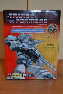 Transformers Prowl G1 Conmemorative (no Optimus Prime)